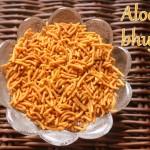 How to make aloo bhujia or potato sev recipe – Diwali snacks recipes