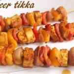 Paneer tikka recipe – How to make paneer tikka dry recipe – paneer tikka on tawa