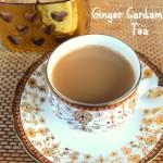 Ginger Cardamom Tea recipe – How to make ginger tea (adrak chai) recipe