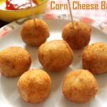 Corn cheese balls recipe – How to make cheese corn balls recipe – snacks recipes