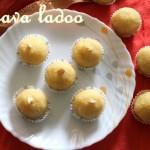 Rava or sooji ke ladoo – How to make rava/sooji ladoo with khoya/mawa recipe – Indian desserts