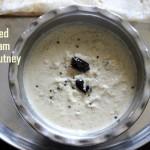 Fried or roasted gram dal chutney recipe or pottukadalai chutney recipe – chutney recipes