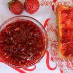 Strawberry jam recipe – How to make homemade strawberry jam recipe