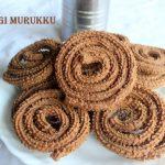 Ragi (finger millet) murukku or chakli recipe – How to make ragi murukku/chakli recipe – ragi recipes