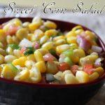 Sweet corn salad recipe – How to make corn salad recipe – salad recipes