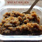 Wheat halwa (with fenugreek seeds)  recipe – How to make wheat halwa (atta ka halwa) recipe – halwa recipes