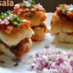 Masala pav recipe – How to make masala pav recipe – Mumbai street snacks