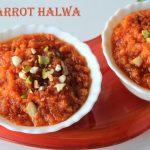 Gajar ka halwa recipe – Carrot halwa recipe in pressure cooker – Instant carrot halwa recipe – winter recipes